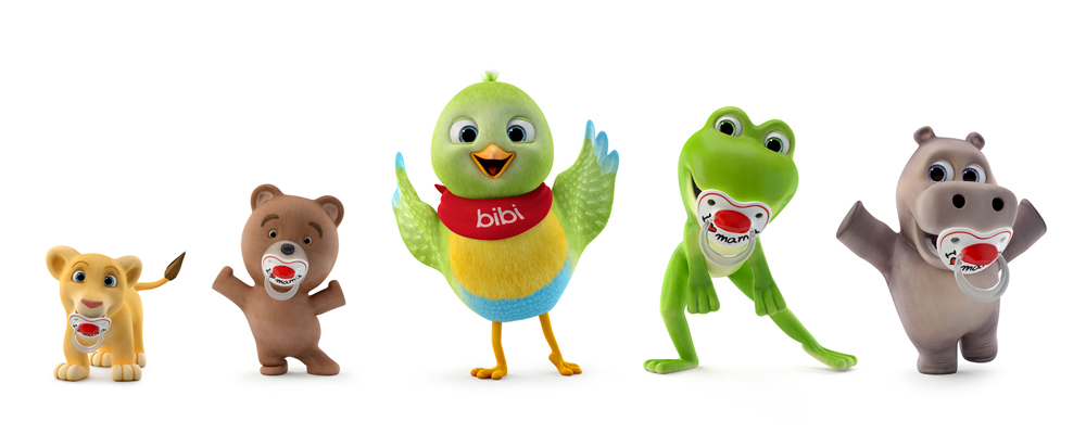 bibi team cartoon for kids