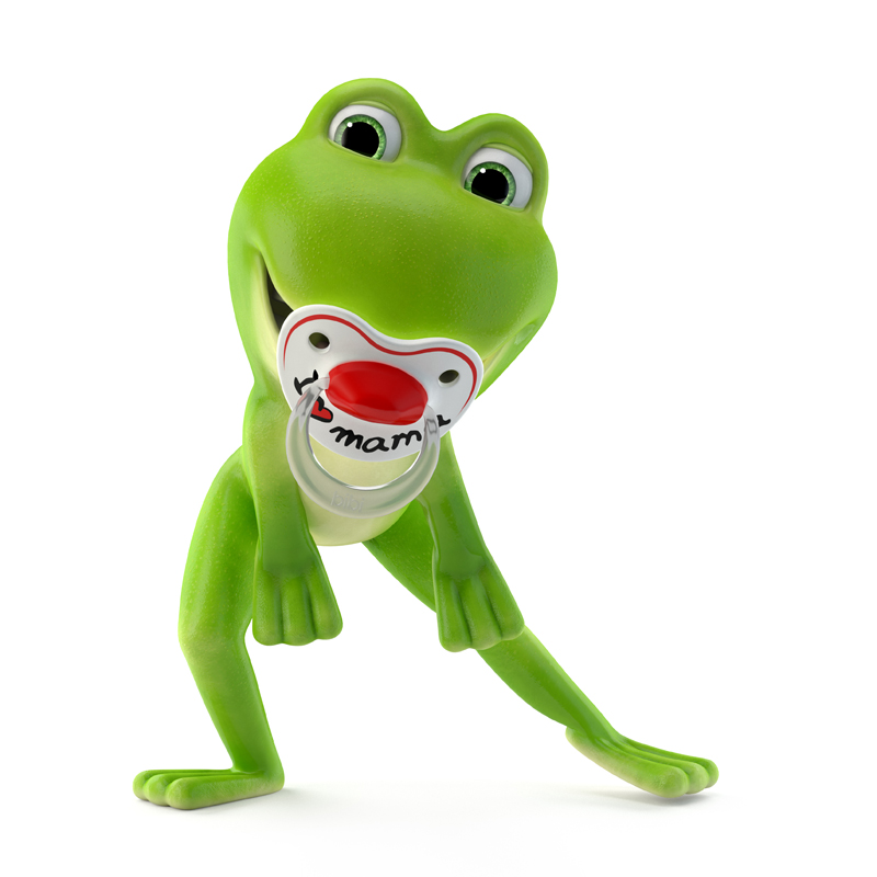 frog cartoon for kids