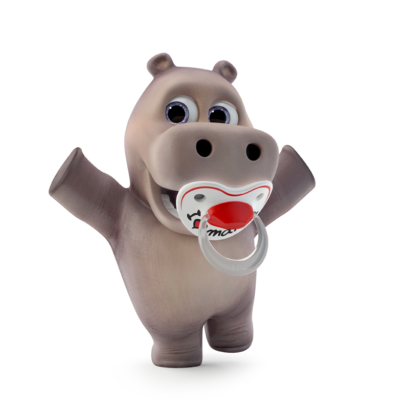 hippo cartoon for kids
