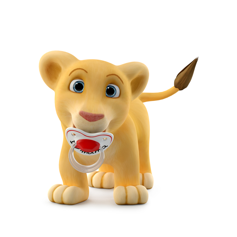 lion cartoon for kids